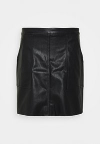 VMSYLVIA SHORT SKIRT TALL - Mini skirt - black