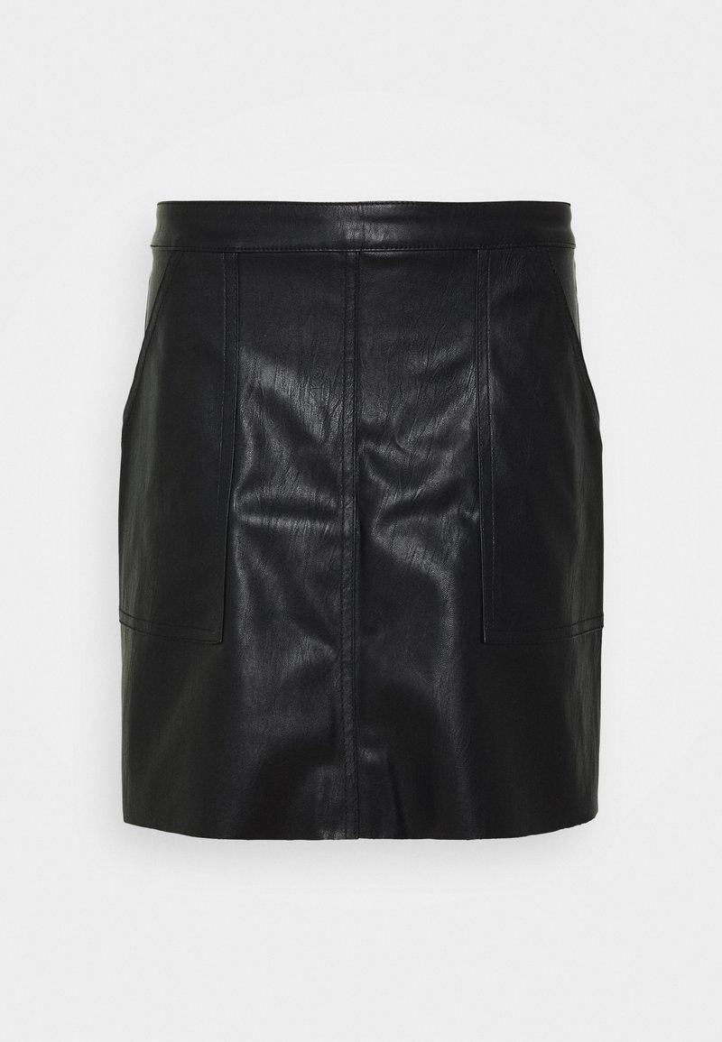 Vero Moda Tall - VMSYLVIA SHORT SKIRT TALL - Mini skirt - black