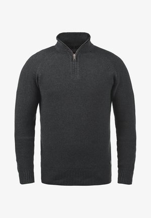 THOMPSON - Strikpullover /Striktrøjer - charcoal