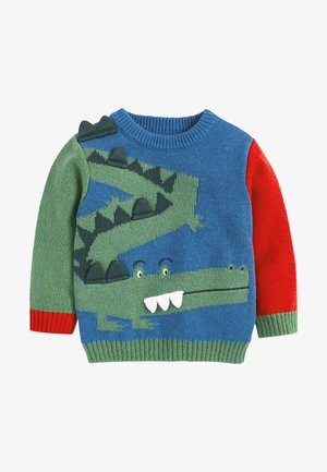 CROCODILE  - Pullover - blue