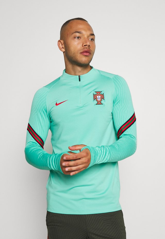 PORTUGAL DRY DRIL - National team wear - mint/sport red