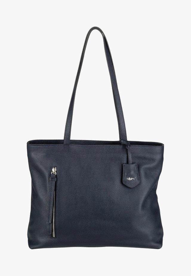 JUNA  - Tote bag - navy