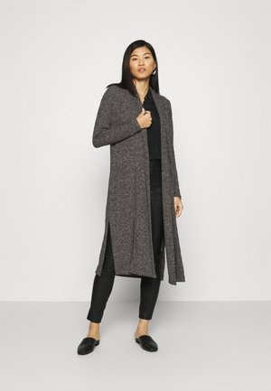 BRUSHED CARDIGAN - Gilet - dark charcoal