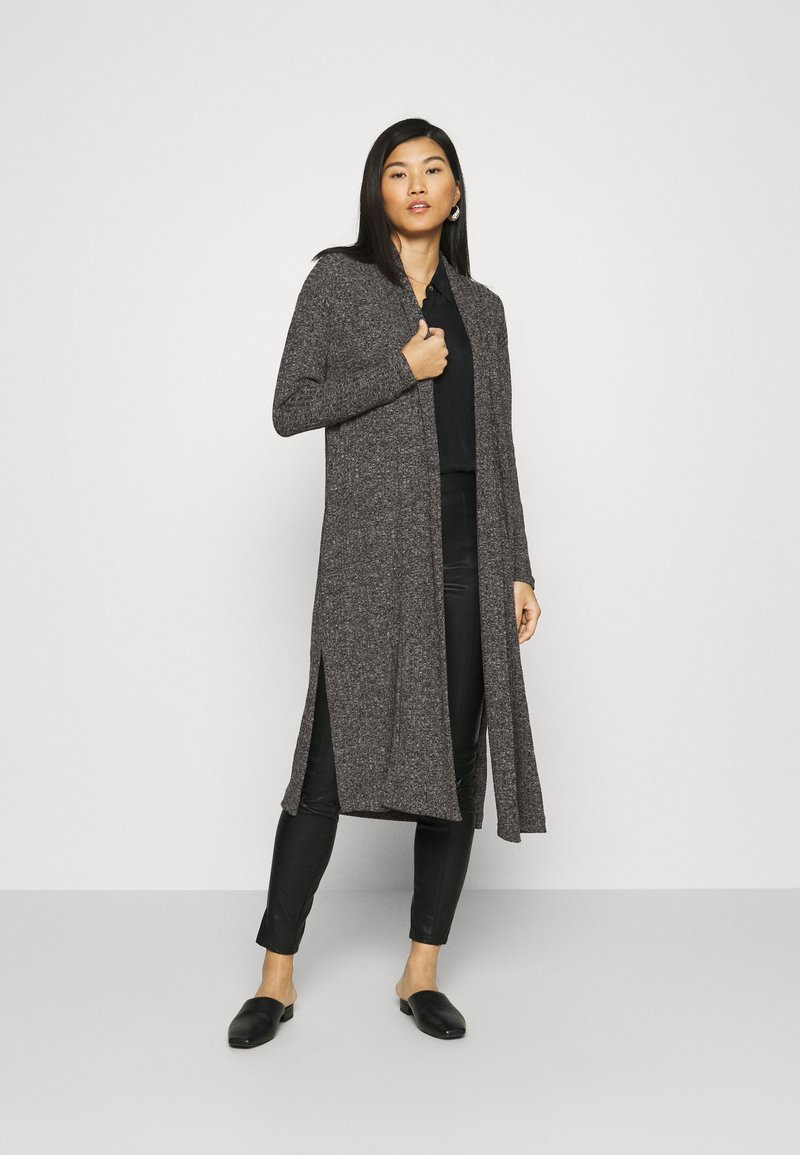 Banana Republic - BRUSHED CARDIGAN - Cardigan - dark charcoal