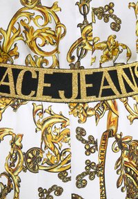 Versace Jeans Couture - SKIRT - A-line skirt - white/gold - 8