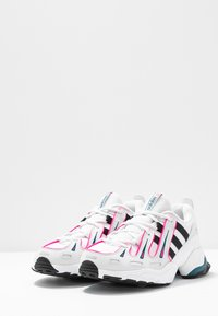 adidas Originals - EQT GAZELLE - Trainers - crystal white/core black/shock pink - 6