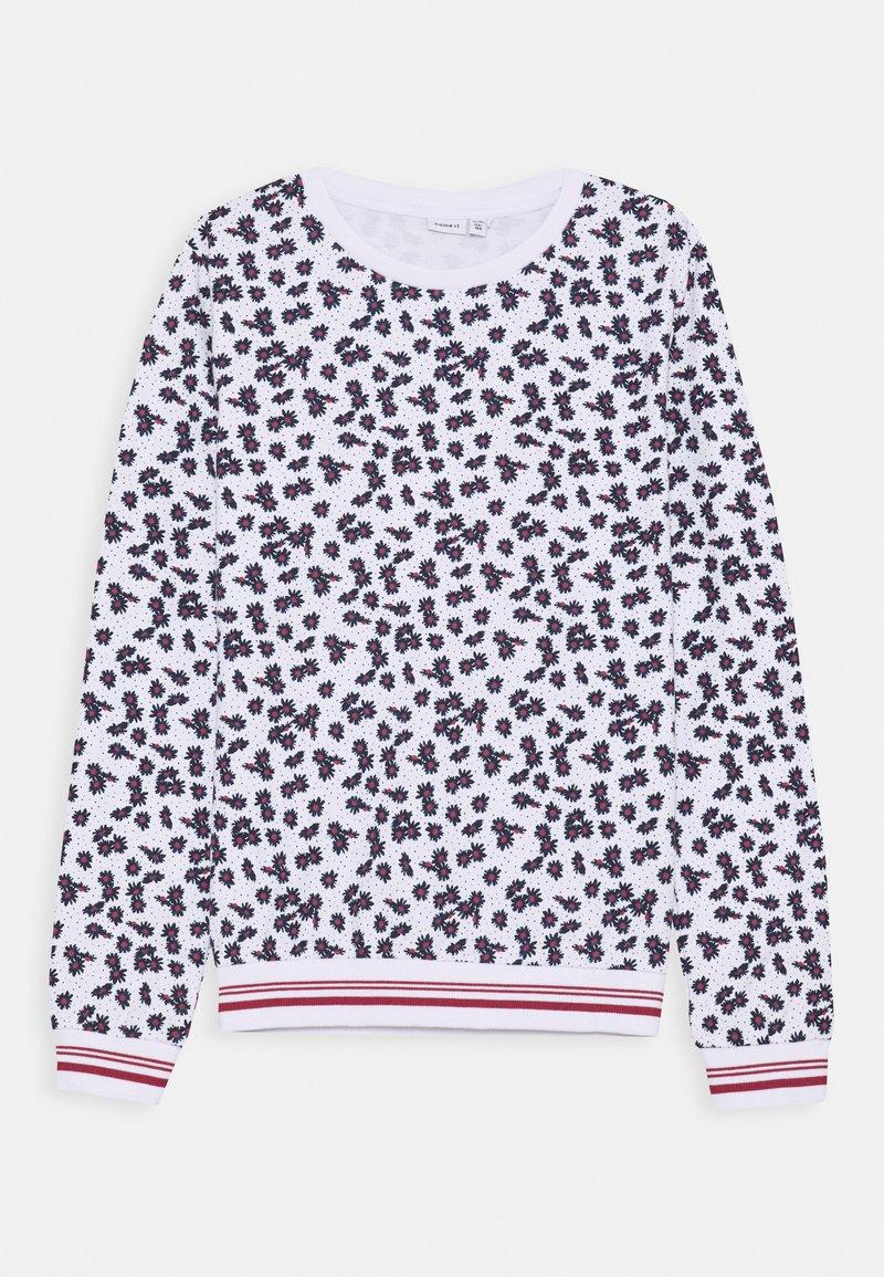 Name it - NKFTROLLA - Sweatshirt - bright white