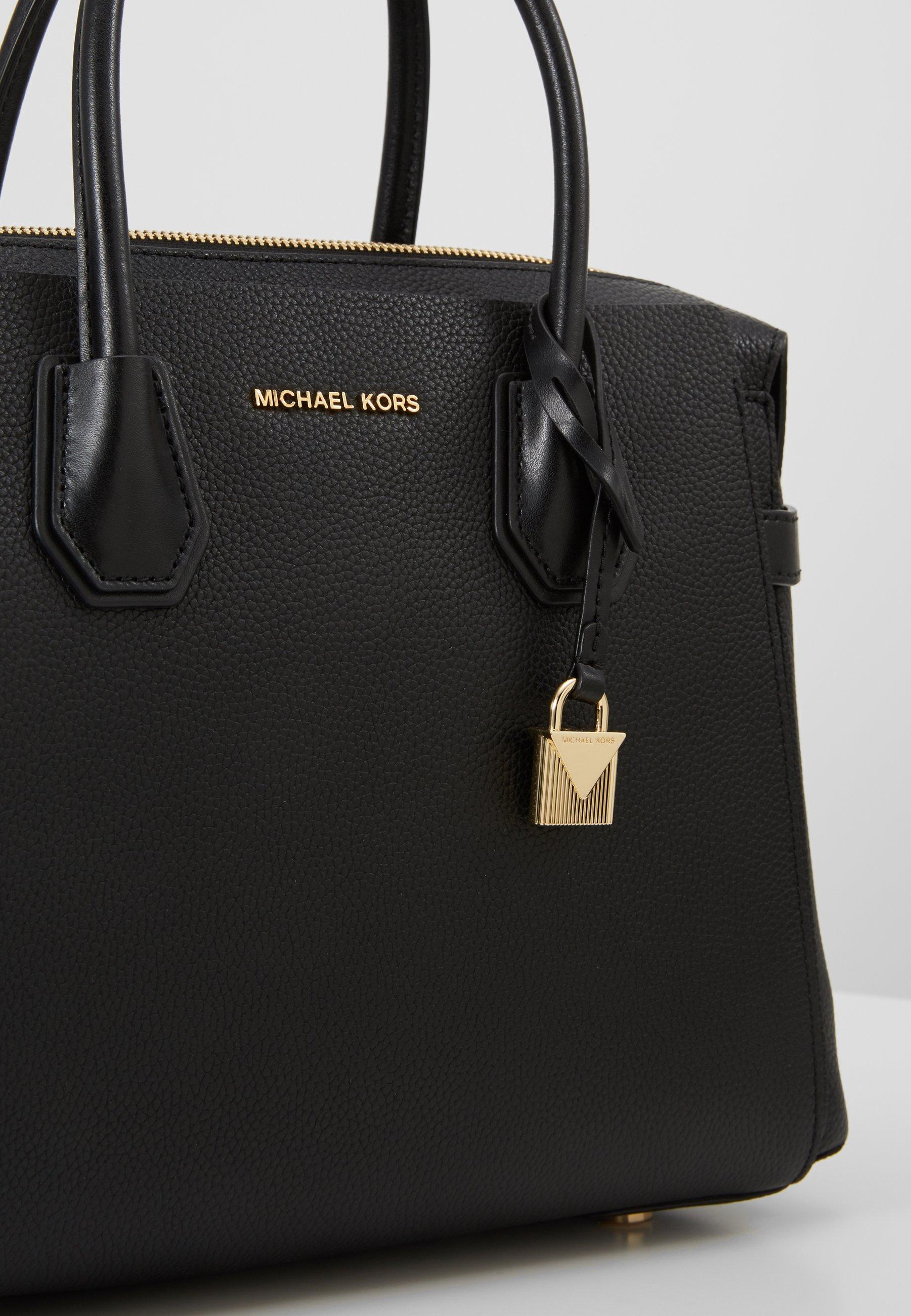 Michael Kors Mercer Belted Satchel - Handtasche Black/schwarz