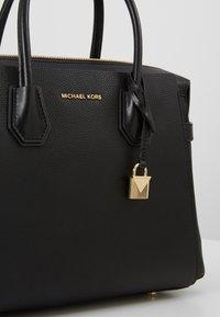 MICHAEL Michael Kors - MERCER BELTED SATCHEL - Handbag - black - 6