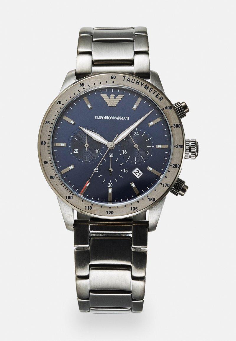 Emporio Armani - SET - Cronografo - gunmetal