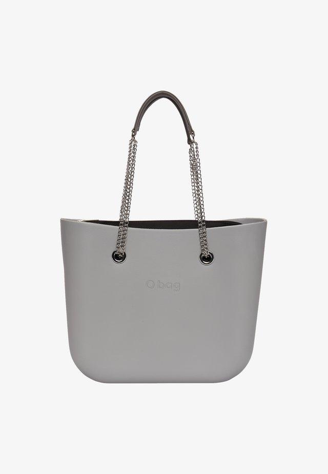 Shopping bag - grigio-metallo