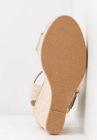 Even&Odd - Sandaler med høye hæler - gold - 6