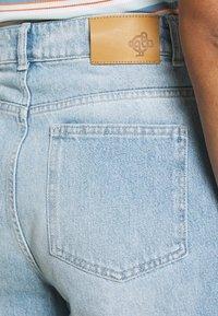 JUST FEMALE - BAY BERMUDA - Denim shorts - light waterblue - 4