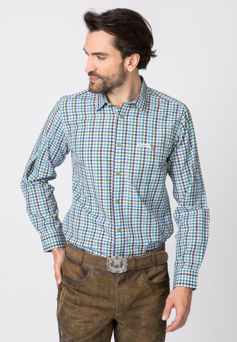 Stockerpoint - PORTOS - Shirt - green/light grey