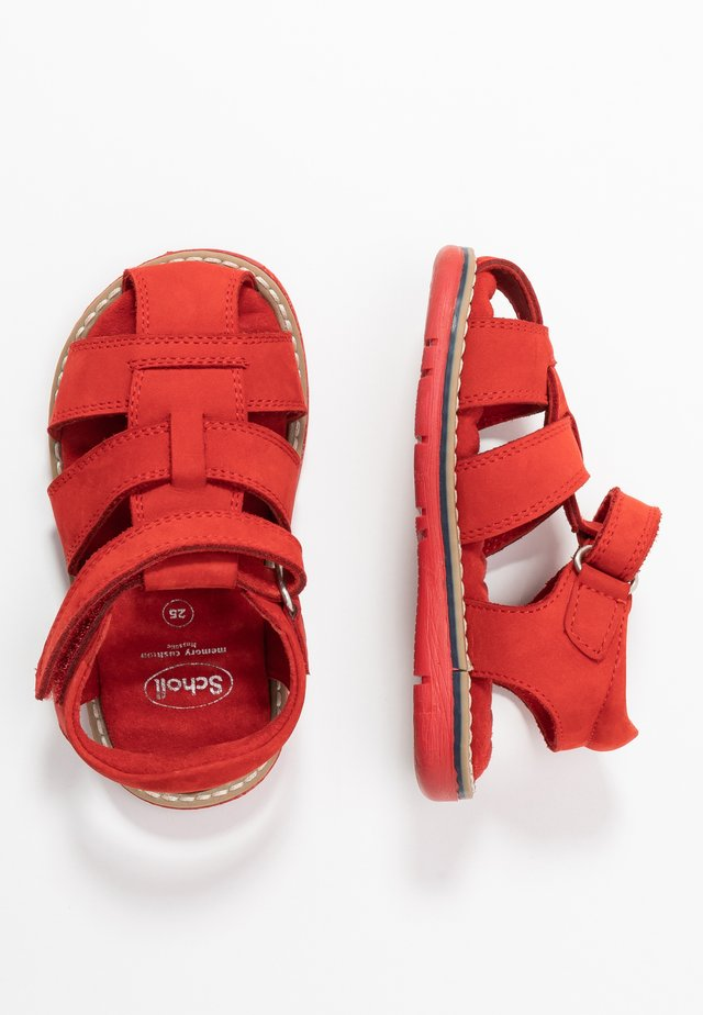 TRICLEO - Sandals - rouge