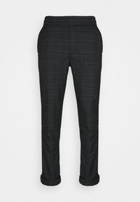 Kronstadt - JIM PINSTRIPE CHECK - Trousers - navy - 3