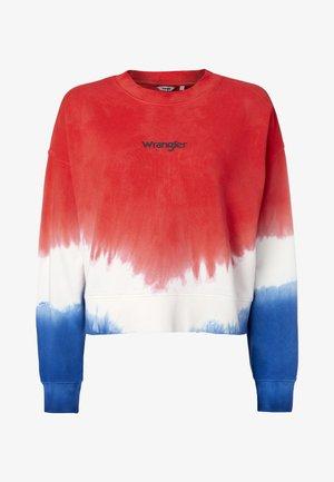 HIGH RIB BOXY RETRO - Sweatshirt - wrangler blue