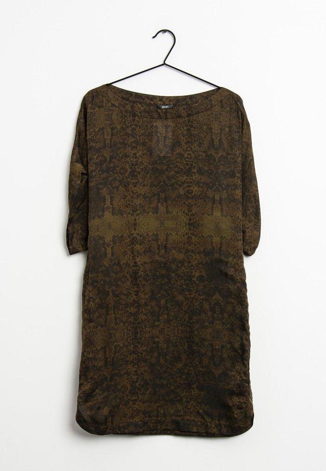 Korte jurk - braun