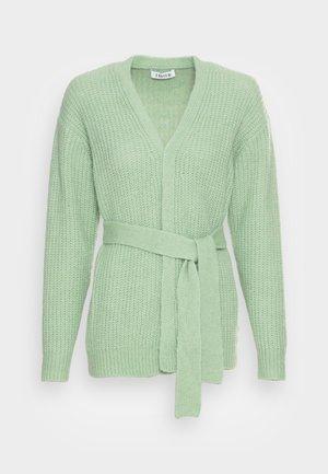 ANNIKA CARDIGAN - Gilet - mistletoe green