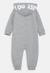 Nike Sportswear - HOODED BABY COVERALL UNISEX - Mono - grey heather - 1