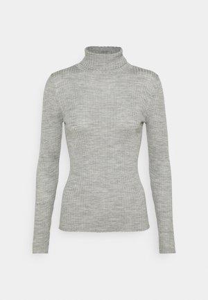 SLFCOSTINA ROLLNECK - Trui - light grey melange