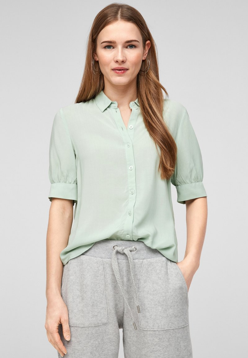 QS by s.Oliver - Button-down blouse - mint