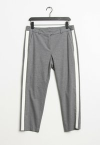 s.Oliver BLACK LABEL - Trousers - grey - 0