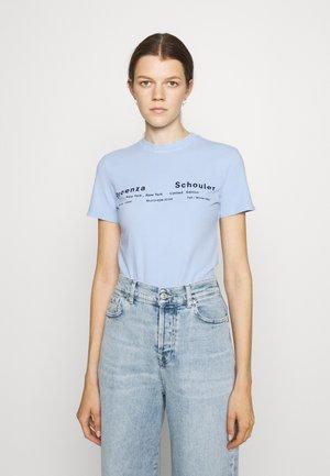TIE DYE - T-shirt imprimé - pale blue