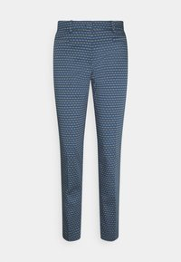 More & More - PRINTED HEDY - Chino - dusty blue - 0