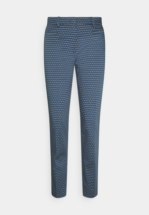 PRINTED HEDY - Chinos - dusty blue