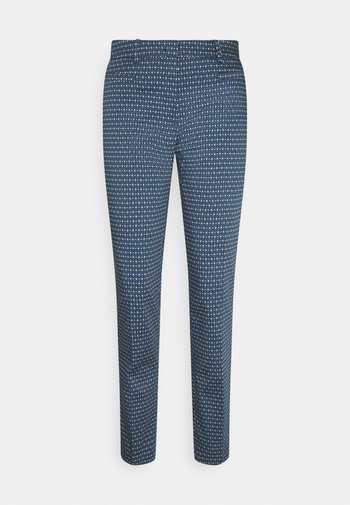 PRINTED HEDY - Chino - dusty blue