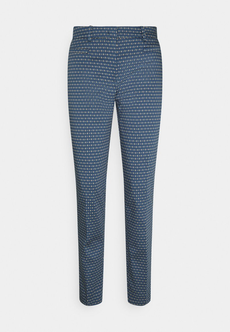 More & More - PRINTED HEDY - Chino - dusty blue