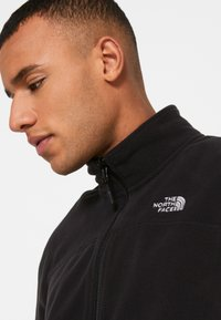 The North Face - GLACIER FULL ZIP NEW - Fleecejacka - black - 7