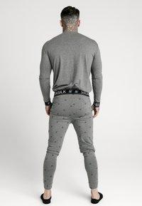 SIKSILK - LOUNGE TEE - Top sdlouhým rukávem - grey - 2