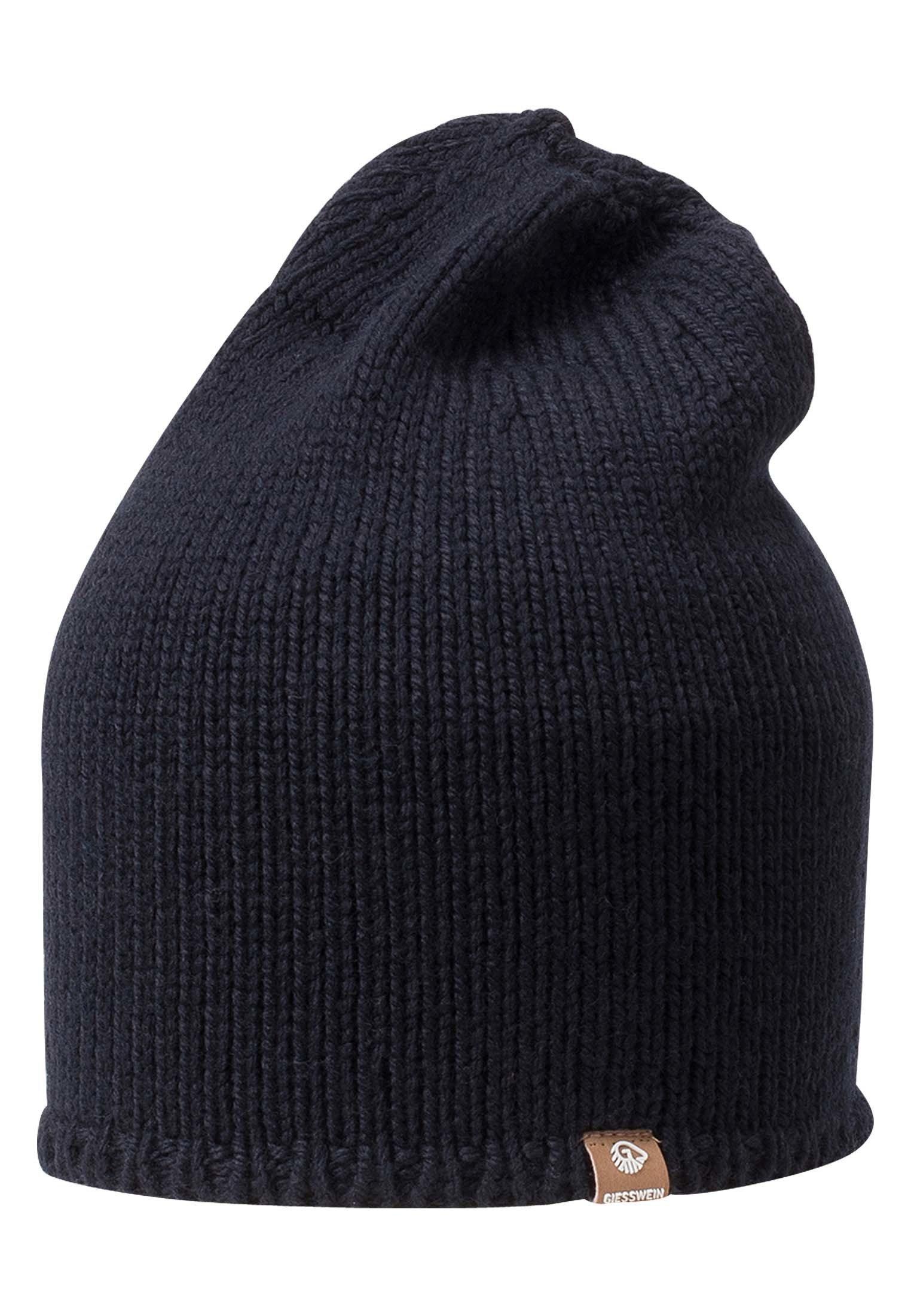 Giesswein Hohloh - Mütze Dark Blue/dunkelblau