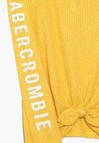 Abercrombie & Fitch - COZY HENLEY  - Trui - yellow - 2