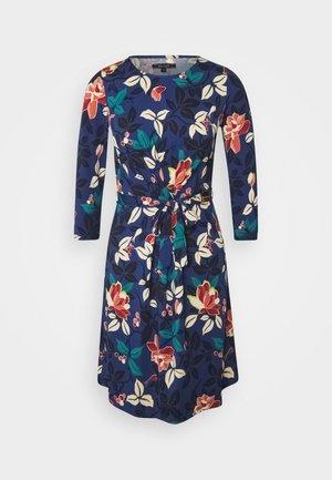 HAILEY DRESS KYOTO - Jerseykjole - tokyo blue