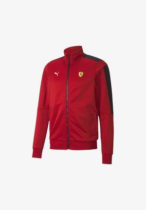 SCUDERIA FERRARI - Training jacket - rosso corsa