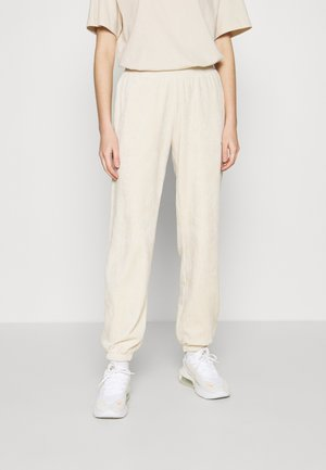 PANT - Tracksuit bottoms - oatmeal