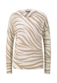 ecru zebra design
