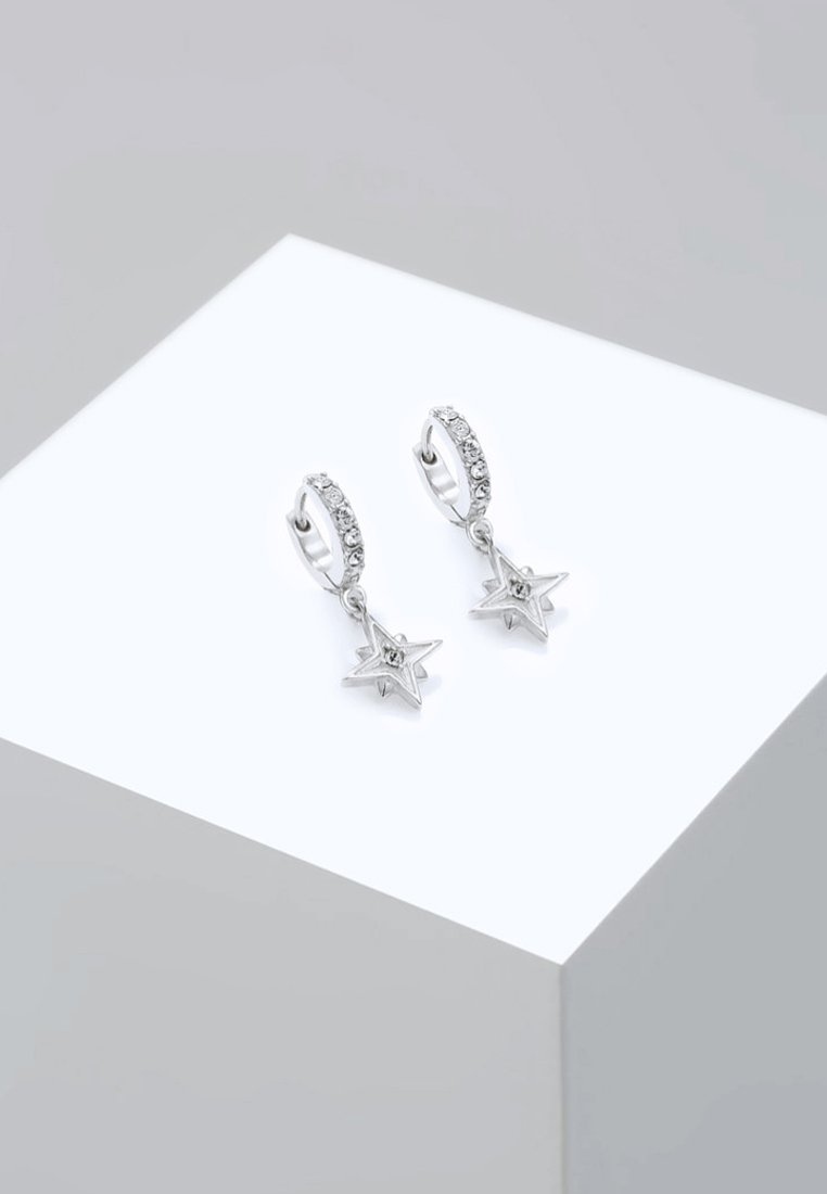 Elli - ASTRO STAR - Earrings - silver-coloured