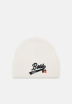 BOSS x RUSSELL ATHLETIC ZOGGIE - Beanie - open white
