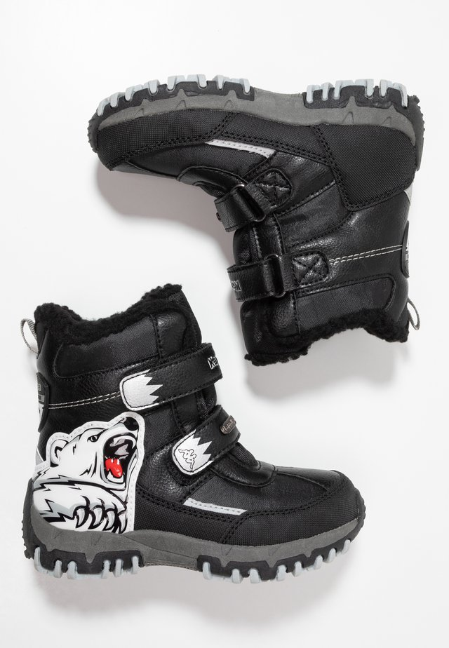 CLAW TEX  - Winter boots - black/silver