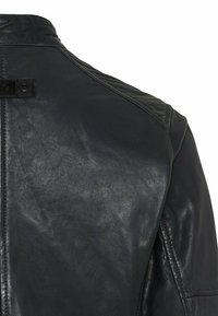 camel active - Leather jacket - navy - 8