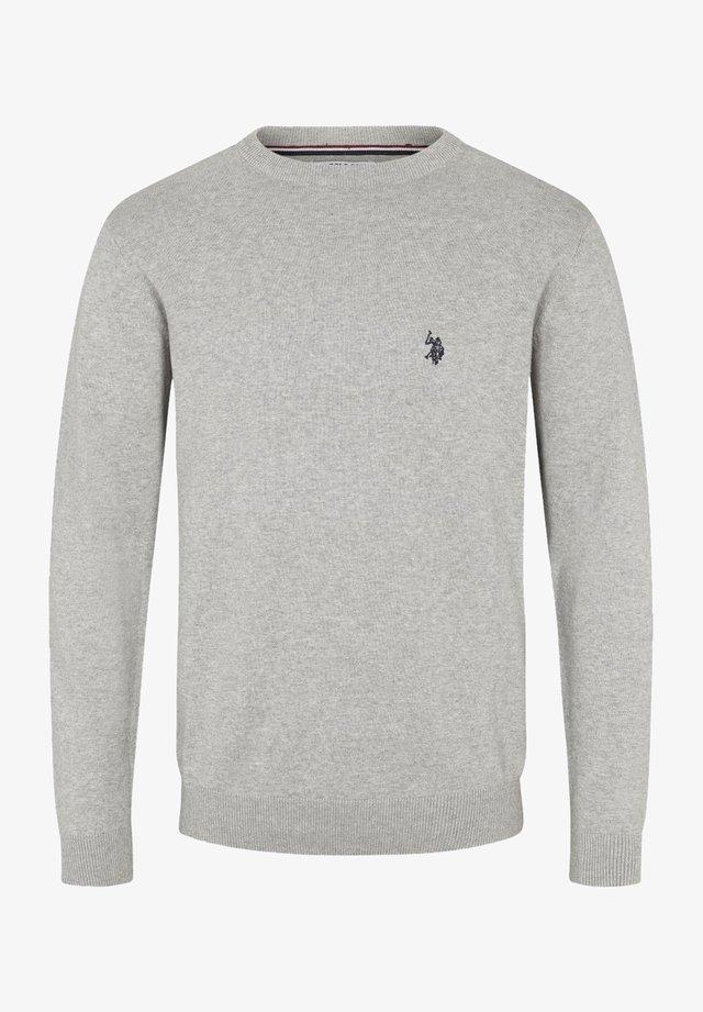 ADAIR - Strikkegenser - grey melange