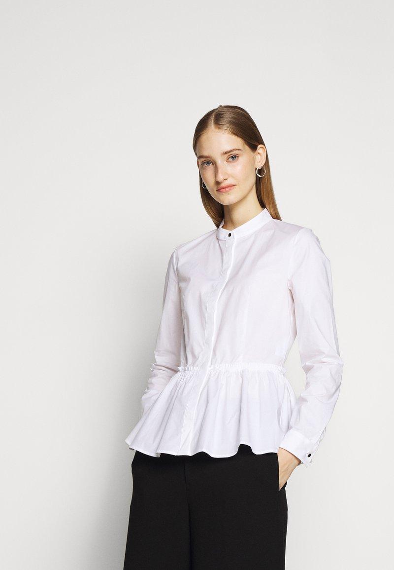 HUGO - EBRINA - Button-down blouse - white