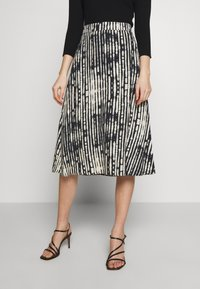 MAX&Co. - CAVALESE - A-line skirt - black - 0