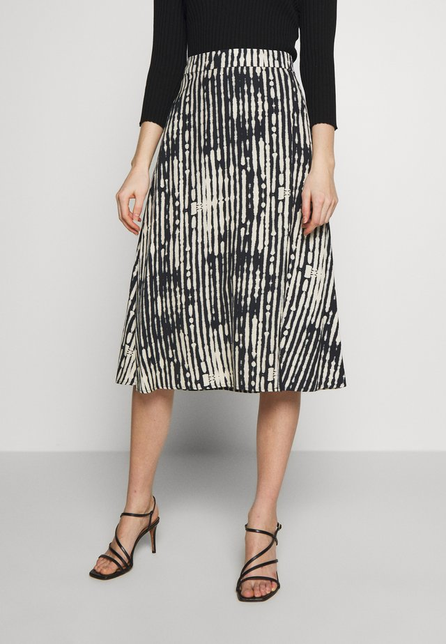 CAVALESE - Áčková sukně - black