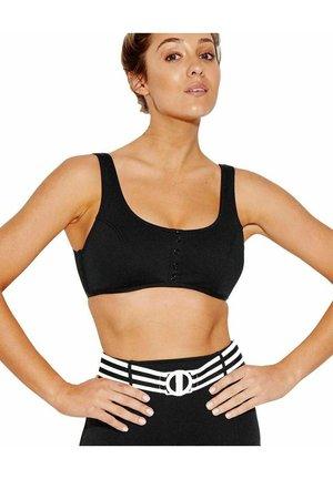 DD TANK - Bikini top - black