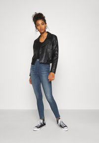 G-Star - SHAPE HIGH SUPER ANKLE  - Jeans Skinny Fit - antic faded zaffre restored - 1